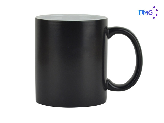 Tazon cambia color - negro - 11oz