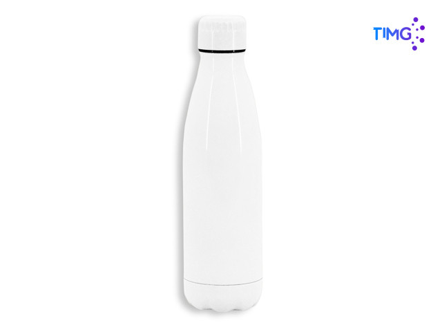 Thermo sublimable de 500cc tipo botella blanca 24x6 cm - GB-68236