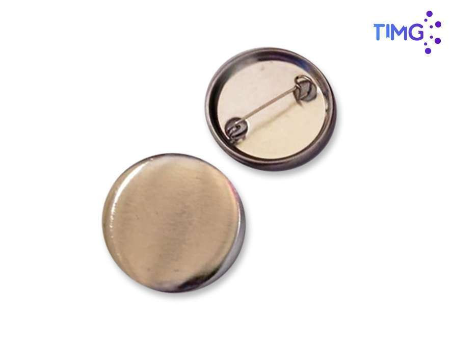 56MM Chapita base metalica pin TMJ - 100 unidades