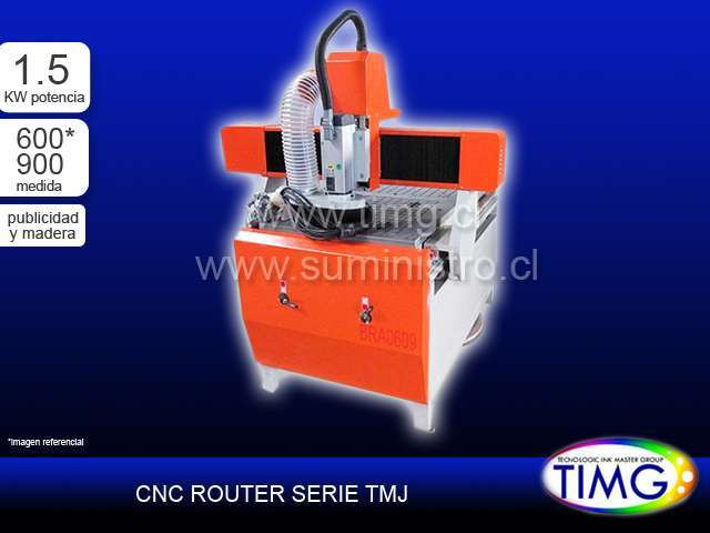CNC Router Madera - 1.5kw TMJ-6090