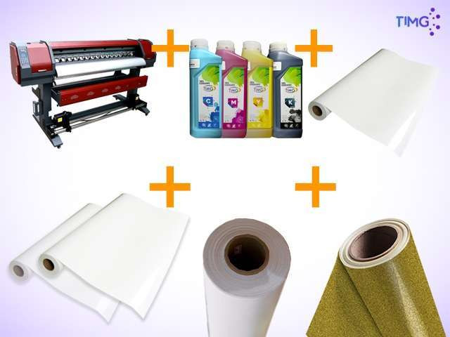Kit de estampado plotter 1626