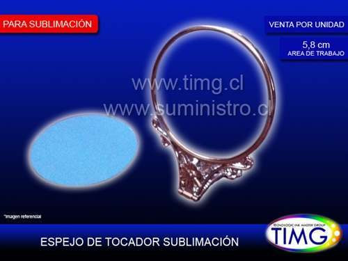 Espejo de Tocador Sublimable Kr-New