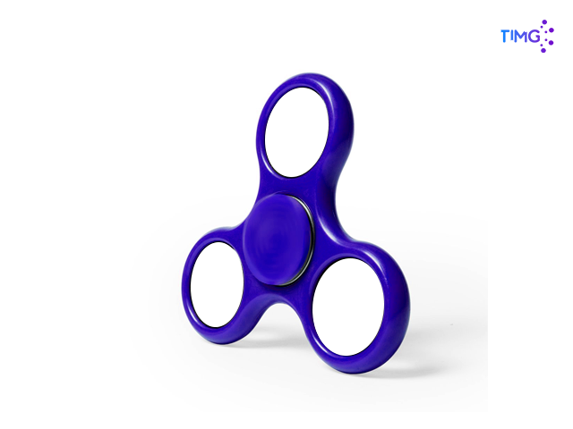 Fidger Spinner Azul
