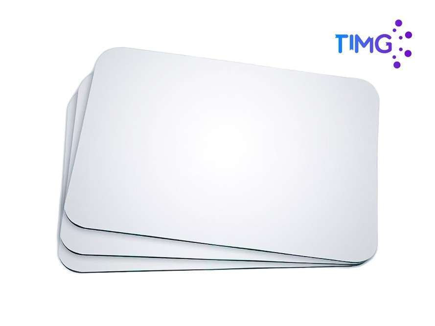 Mouse pad sublimable Blanco A3