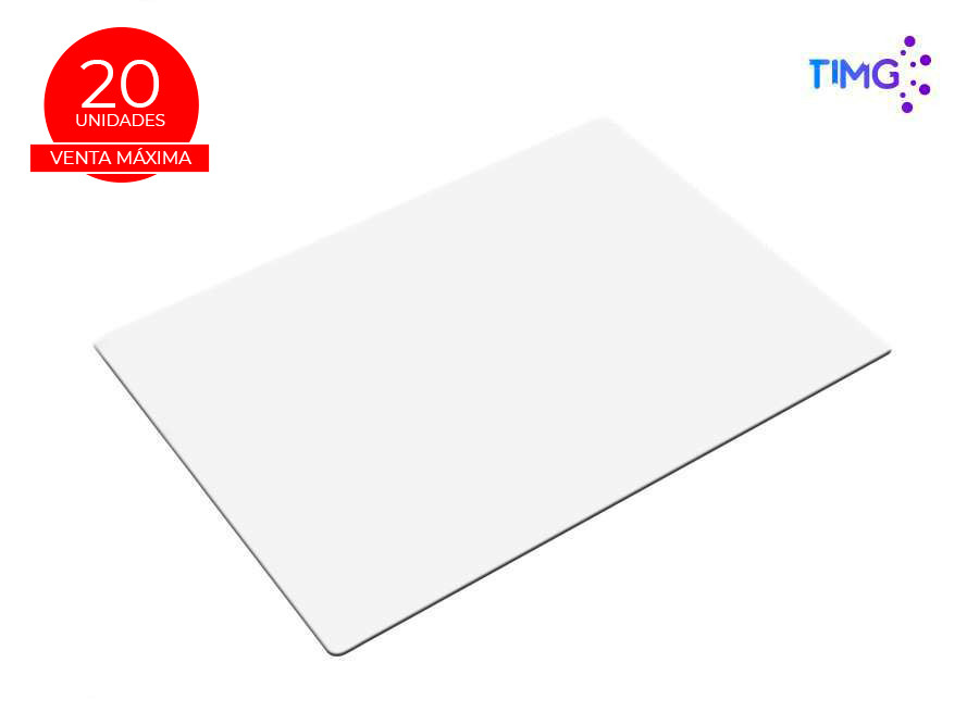 Mouse pad sublimable Blanco 40*60