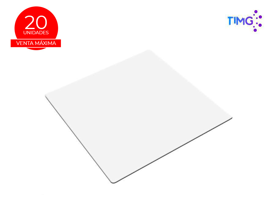 Mouse pad sublimable Blanco 40*40