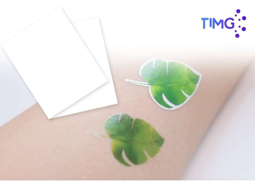 Papel decal imprimible de tatuajes A4 inkjet