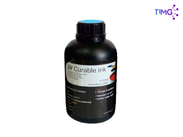 Tinta Uv Led Gen5 Flexible - 500cml Cyan