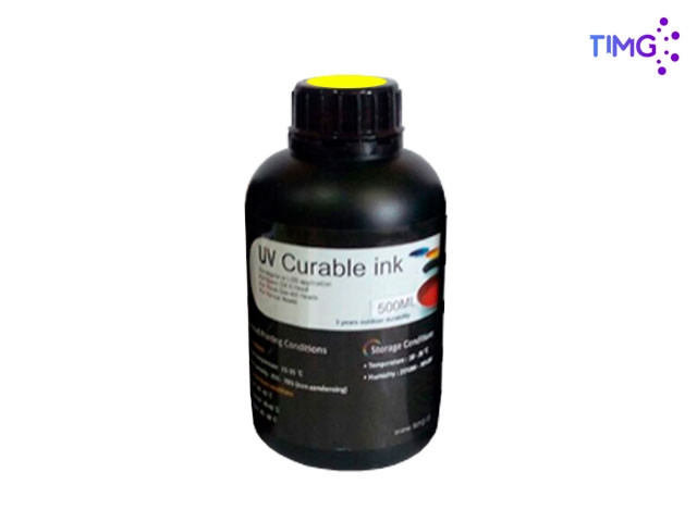 Tinta Uv Led Gen5 Flexible - 500cml Amarillo