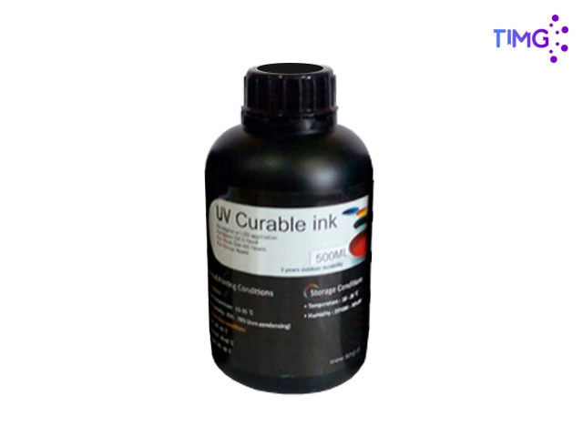 Tinta Uv Led Gen5 Flexible - 500cml Negro