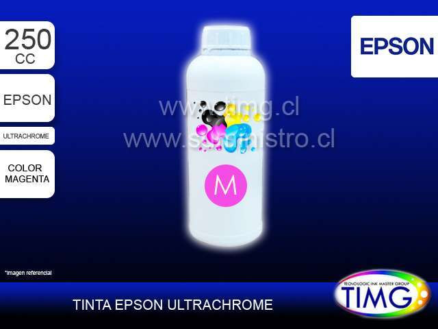 Tinta tipo Ultrachrome 250cc MAGENTA