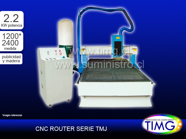 CNC Router Madera - 2.2kw TMJ-1224-06