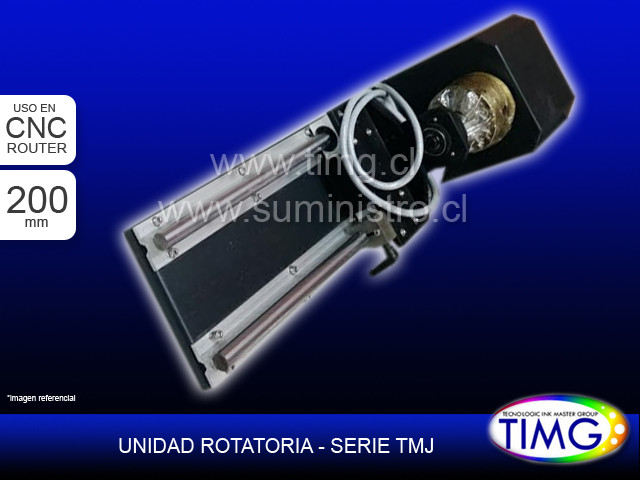 Unidad Rotatoria Router TMJ - 200mm