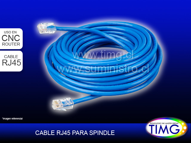 Cable de Spindle Rj45 5mt