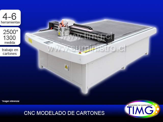 CNC modelado carton Gs 4-6 herramientas NB-LED Series 2513
