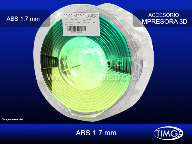 Thermosensible 1,75mm 1 kg Blue green to Yellow green