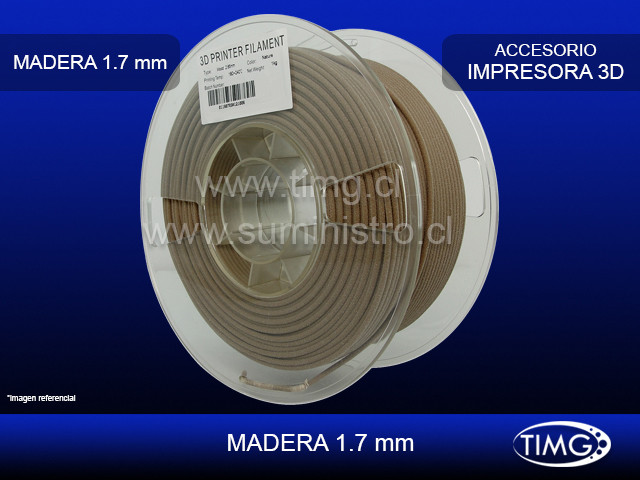 Color normal 1,75mm 1 kg Natural Madera