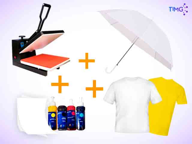 Kit de estampado Verano