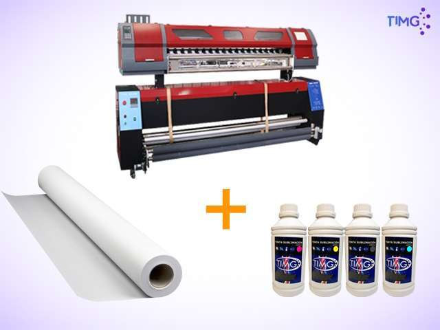 Kit de estampado plotter ECO + Horno