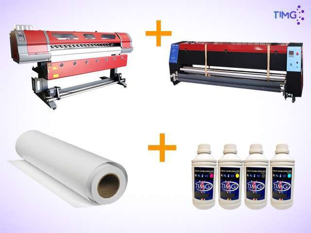Kit de estampado plotter ECO 2 cabezales EPSON + Horno