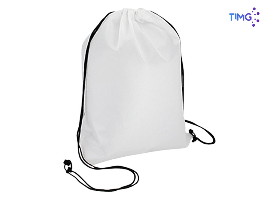 Bolsa sublimable de polyester color blanca - 33x42cm - 420D